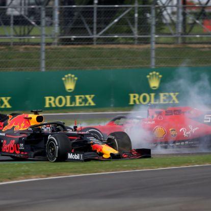 Ez gondolja Vettel arról, hogy tönkretette Verstappen és saját futamát