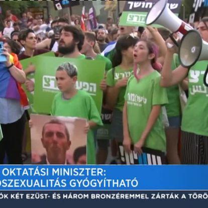 Izraeli oktatási miniszter: A homoszexualitás gyógyítható
