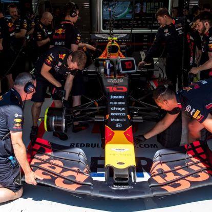 Új rekord született, a Red Bullé a leggyorsabb kerékcsere – VIDEÓ