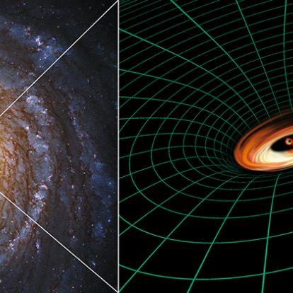 A tudományos elméleteknek ellentmondó jelenséget észlelt a Hubble egy fekete lyuk körül