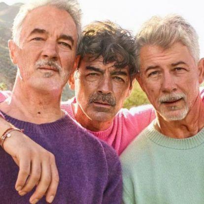 A Jonas Brothers a FaceApp öregítő filterének nyertese