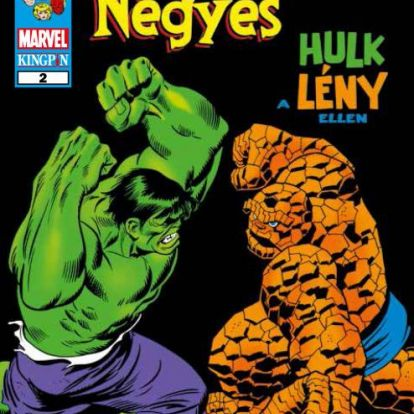 Amikor a két behemót összecsapott - Fantasztikus Négyes: Hulk a Lény ellen