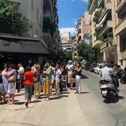 Földrengés rázta meg Athént