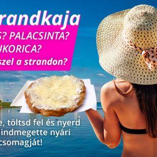 Te mit eszel a strandon? Fotózd le és nyerj!