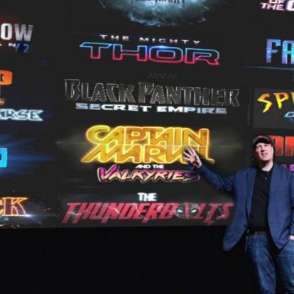 Íme a Marvel filmes univerzum negyedik fázisának menetrendje