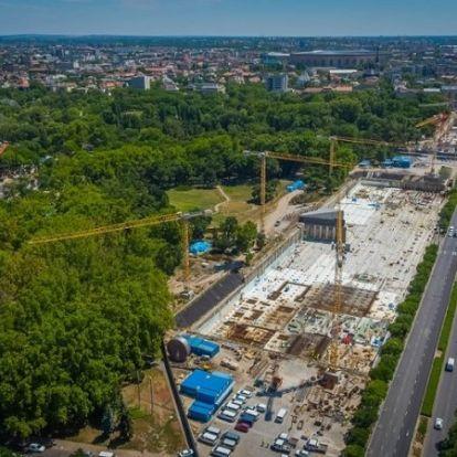 Turbó fokozatban Liget Projekt – 2019 már az átadások éve!