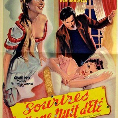298. Egy Nyári Éj Mosolya (Sommarnattens leende) - 1955