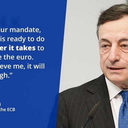 A mondat, ami megmentette az eurót