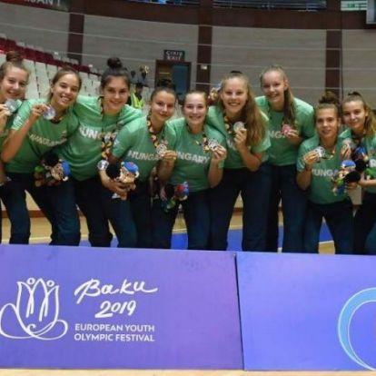Remekeltek a magyar fiatalok az EYOF-on
