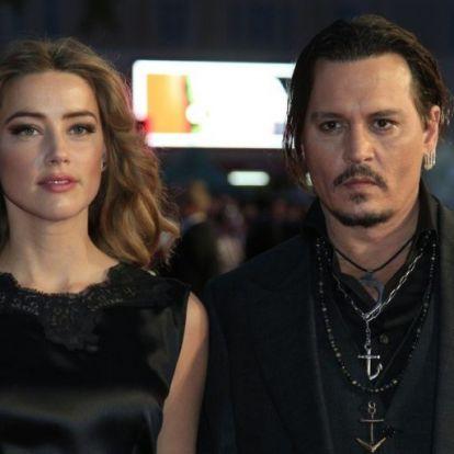 Johnny Depp durva dologgal vádolja Amber Heardöt