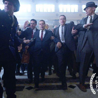Végre tudjuk, mikor debütál a The Irishman: Az első hivatalos képek is megérkeztek a filmből