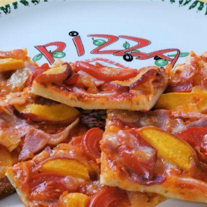 Gyors éhségűző pizza