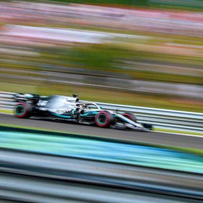 Hamilton volt a leggyorsabb a harmadik szabadedzésen