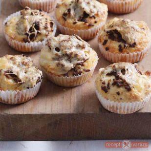 Sajtos-húsos muffin - Kipróbált és legjobb muffin receptek egy helyen! - Receptvarázs – receptek képekkel
