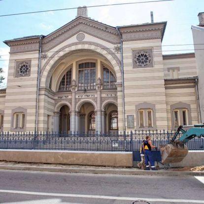 Antiszemita fenyegetések miatt határozatlan időre bezárták a vilniusi zsinagógát