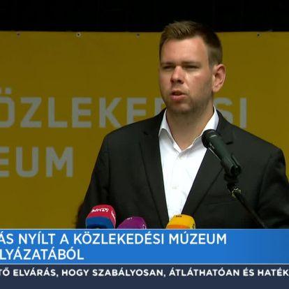 Kiállítás nyílt a Közlekedési Múzeum tervpályázatából