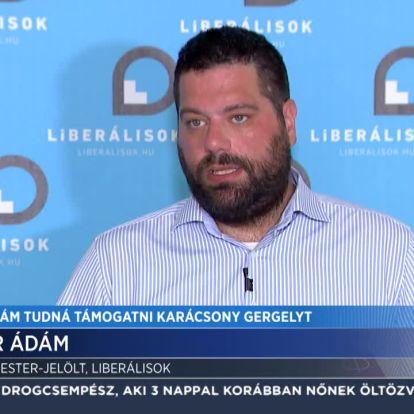 Sermer Ádám tudná támogatni Karácsony Gergelyt