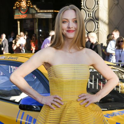 Amanda Seyfried's Green Dress Features The Daring Hue That'll Dominate This Fall