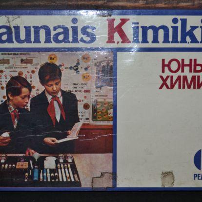 Szovjet kémiai készlet