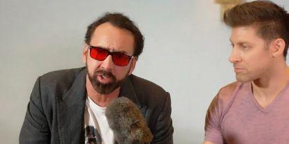 Nicolas Cage agyával tényleg bajok vannak, újabb bizarr történettel állt elő