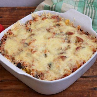 Könnyű nyári zöldséges lasagne