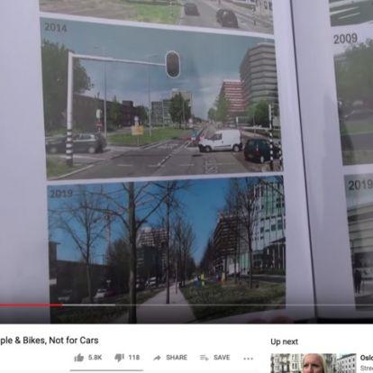 Így lett zöld és autómentes Utrecht belvárosa (VIDEÓ)