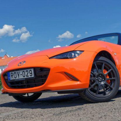 Ünneplőben – Mazda MX-5 G184 30th Anniversary (2019) teszt