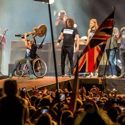 Képtelenség nem rajongani - a Foo Fighters a Szigeten