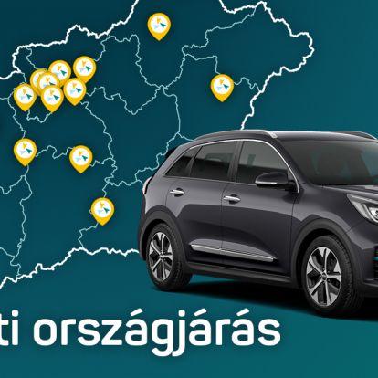 E-autós országjárás a Mobilitivel