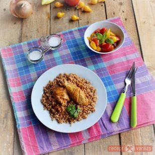Csirkepörkölt tarhonyával recept - Tészták - Receptvarázs – receptek képekkel