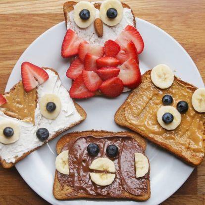 Cukiság a köbön - kreatív reggelik és uzsonnák gyerekeknek