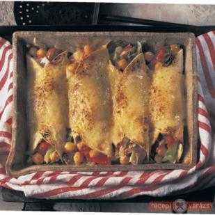 Töltött tortilla - Zöldség alapú ételek, hússal, hús nélkül, egészségesen, táplálóan, mégis alacsony kalóriatartalommal. - Receptvarázs – receptek képekkel
