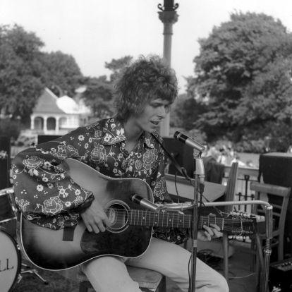 Műemlékké nyilvánították a zenepavilont, ahol anno David Bowie csinálta meg a maga mini Woodstockját