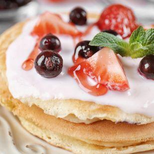 Görög joghurtos amerikai palacsinta: krémes, könnyed reggeli