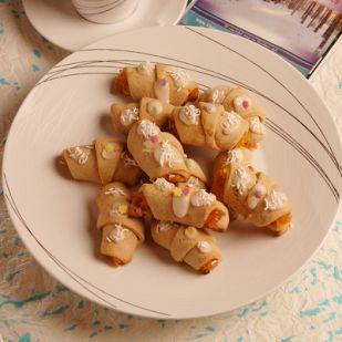 Mézeskalács croissant