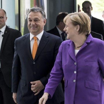 Angela Merkel csodálattal adózik Magyarországnak