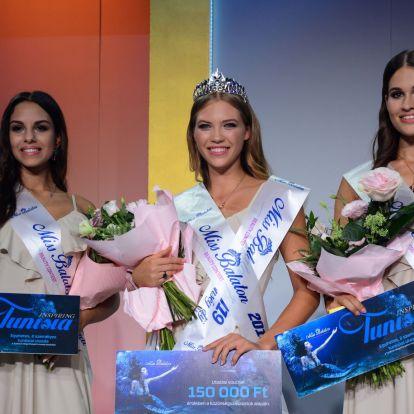 Balogh Eleni nyerte 2019-ben a Miss Balatont - Blans.hu