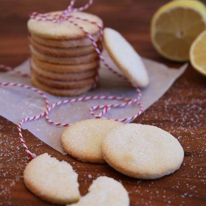 Egyszerű citromos keksz
