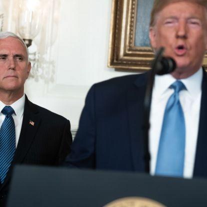 Trump alelnökével együtt indul a 2020-as választásokon
