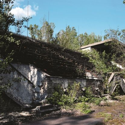 A futballcsapat, amelyet Csernobil pusztított el