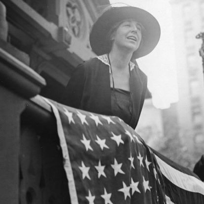 Az első női képviselő legfontosabb szavazata