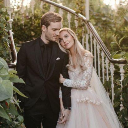 Megházasodott PewDiePie, a leghíresebb videós
