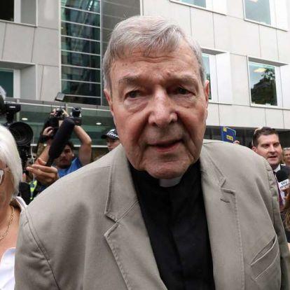 Elutasították a pedofília miatt elítélt ausztrál bíboros fellebbezését