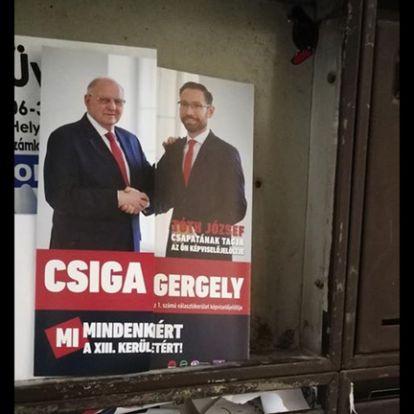 Még nem kezdődött el a kampány, de a XIII. kerületben már szórólapozik az MSZP