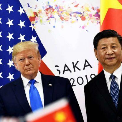 Trump: Valakinek szembe kellett szállnia Kínával