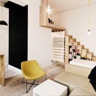 5 gyönyörű lakás 25 négyzetméter alatt – Aprócskák, de praktikusak