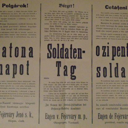 Katonanap: 1914. augusztus 18.