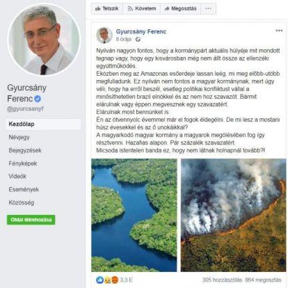 A Böszme megfejtette az amazonasi erdőtüzek titkát: Orbán!