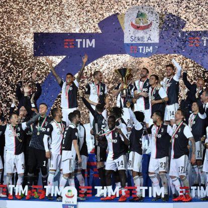 Serie A: megszakítanák a Juventus szériáját