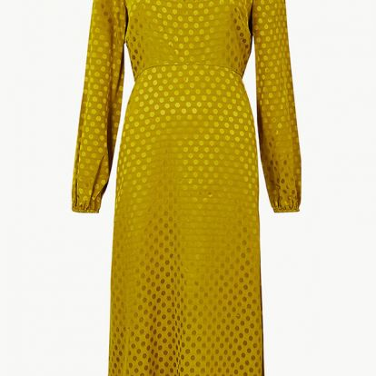 Holly Willoughby's yellow MS dress is set to be the buy of the season